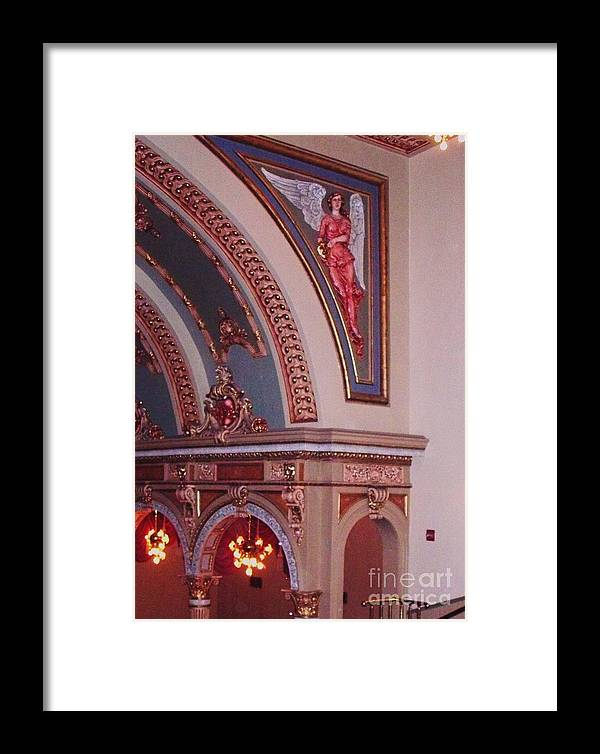 Theater Framed Print featuring the photograph Theater by Eric Schiabor