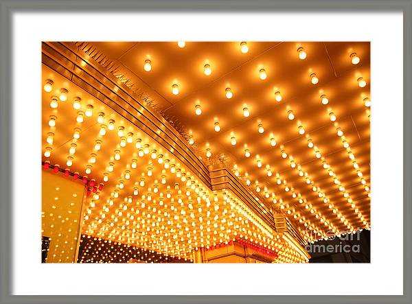 Theatre Entrance Marquee Lights by Paul Velgos