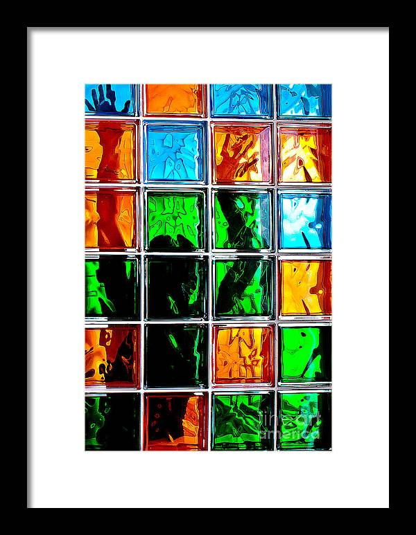 Shadow Framed Print featuring the photograph Theatre Of One Shadow by Vadim Grabbe