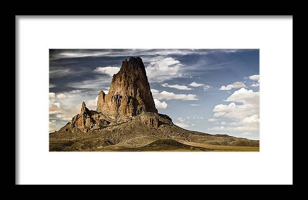 Landscape Framed Print featuring the photograph Theres A Killer On The Road by Mike McMurray