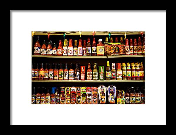 New Orleans Framed Print featuring the photograph Things get HOT in New Orleans by Kim Fearheiley