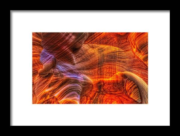 Canyon Framed Print featuring the photograph This Is Arizona No. 2 - The Eye by Paul W Sharpe Aka Wizard of Wonders