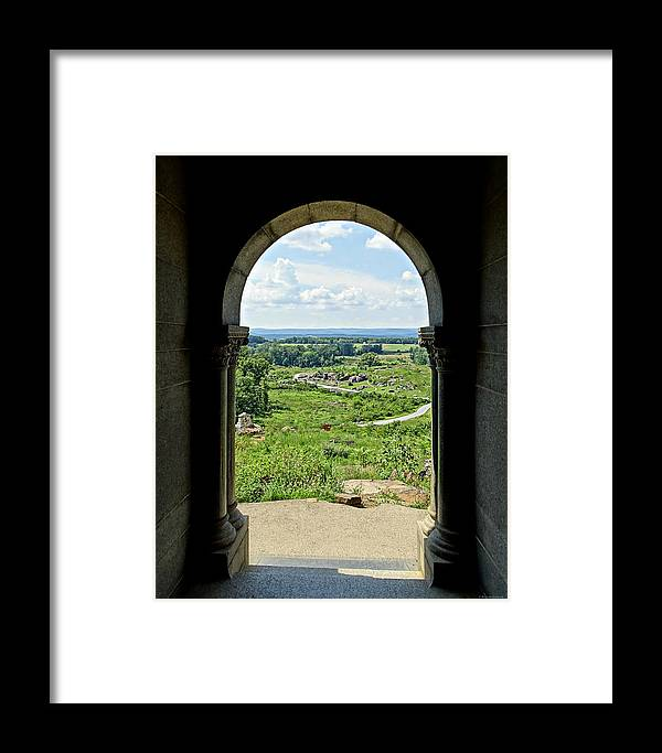 This Is Gettysburg Framed Print featuring the photograph This Is Gettysburg by Brenda Conrad