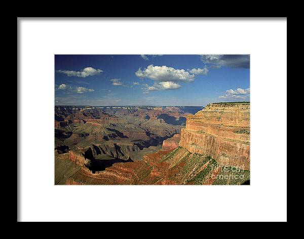 Grand Canyon Framed Print featuring the photograph This Is My Father's World by Kathy McClure