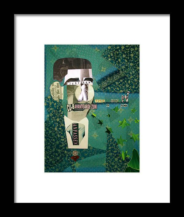 Kamelogana Framed Print featuring the mixed media This Is Our Time by Christoph Fuhrken