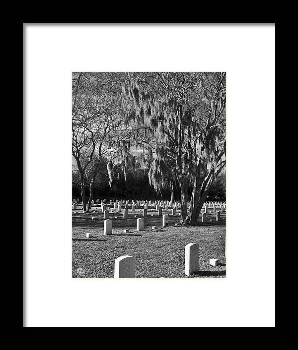 Cemetary Framed Print featuring the photograph This Is War by Michele Caporaso