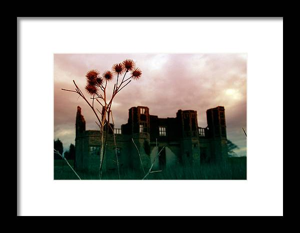 Jez C Self Framed Print featuring the photograph Thistle Manor by Jez C Self