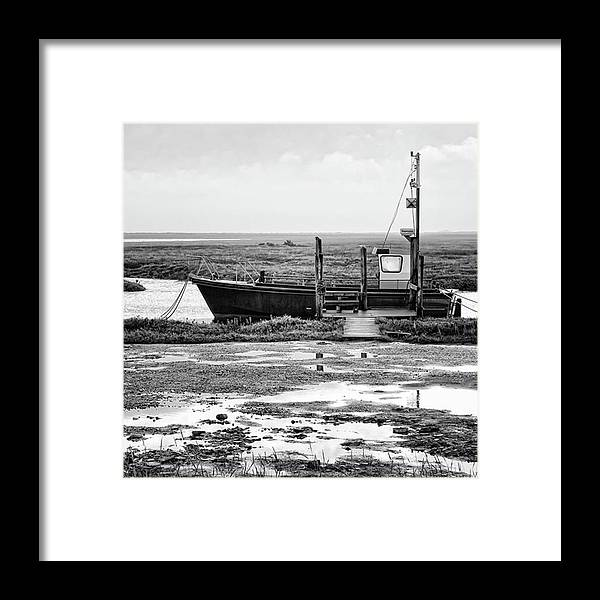 Amazing Framed Print featuring the photograph Thornham Harbour, North Norfolk by John Edwards