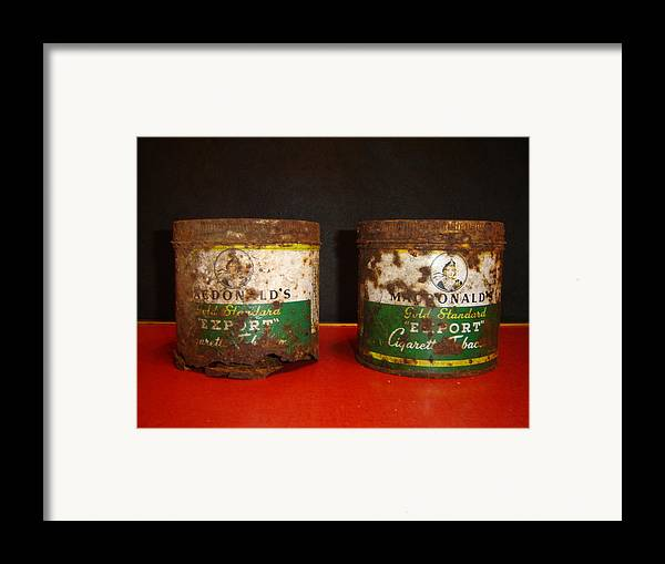 Stil Life Framed Print featuring the photograph Those Two by Dean Corbin