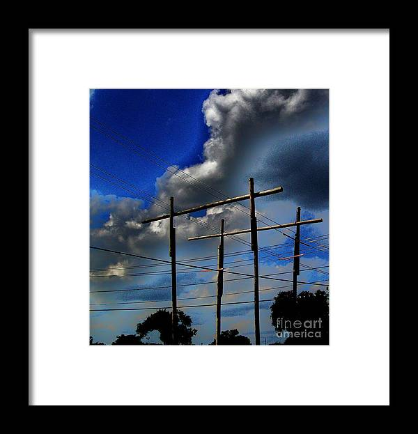 Landscape Framed Print featuring the photograph Thought Provoking by Marsha Heiken