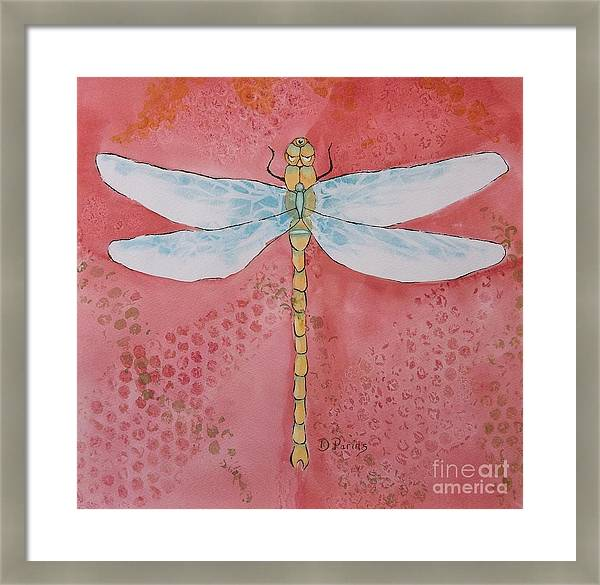 Three-eyed dragonfly by DParins Zich