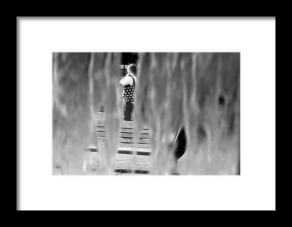 Jez C Self Framed Print featuring the photograph Through The Bars Of The Rian by Jez C Self