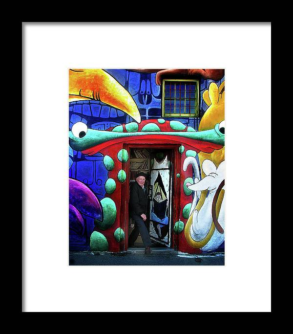 Book Shop Framed Print featuring the photograph Through The Rabbit Hole by John Poon