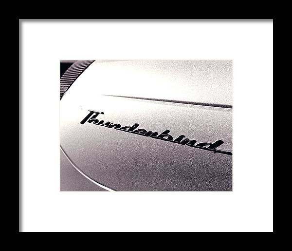 Ford Framed Print featuring the photograph Thunderbird by Jeff Porter