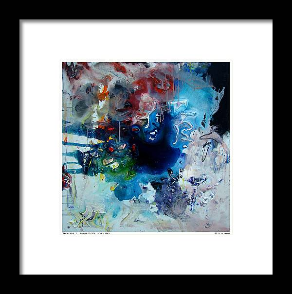 Abstract Jlo Thx Framed Print featuring the painting Thx1336-2 by Jlo Jlo