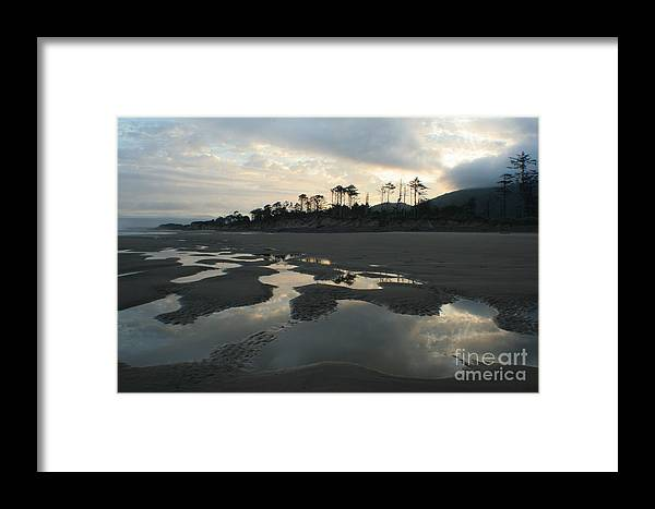 Oregon Framed Print featuring the photograph Tidepools At Dawn by Idaho Scenic Images Linda Lantzy