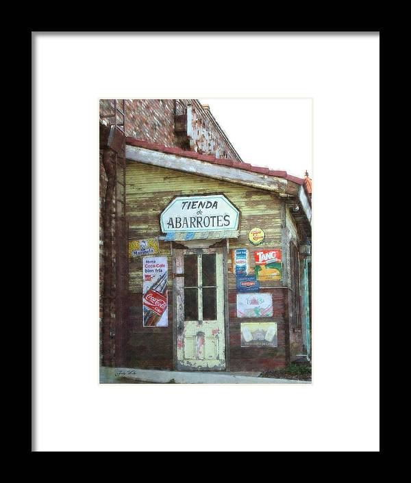 Mexico Framed Print featuring the photograph Tienda De Abarrotes by Judy Waller