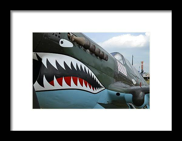 World War Ii Framed Print featuring the photograph Tiger Teeth by Lee Gray