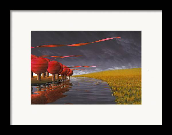 Tree Framed Print featuring the painting Tilia Ora by Patricia Van Lubeck