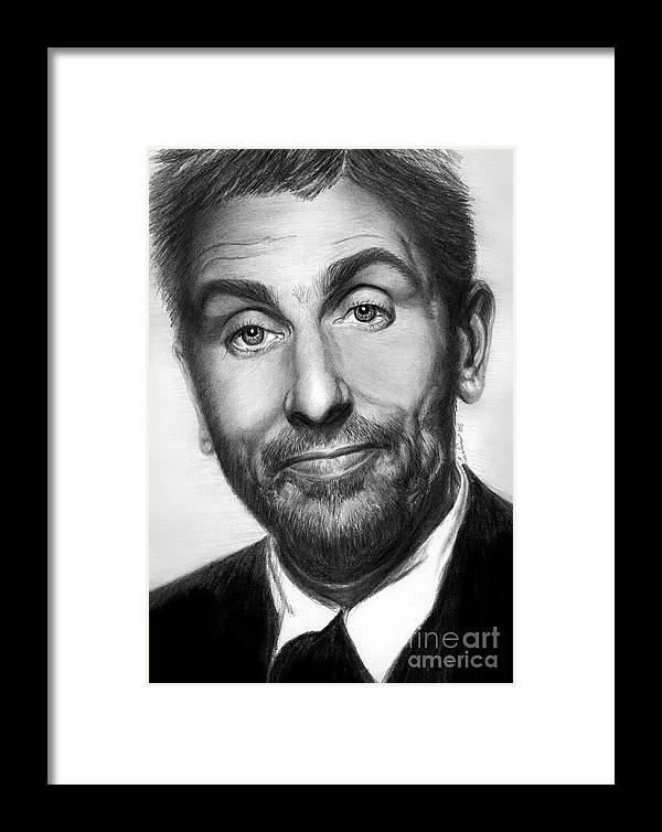 Actor Framed Print featuring the print Tim Roth by Carliss Mora