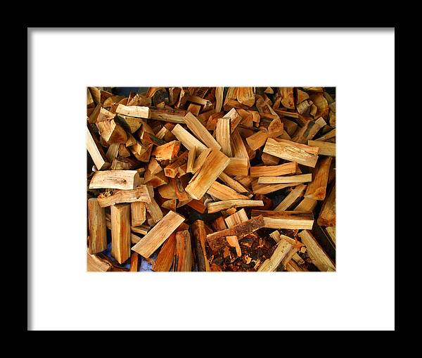 Wood Framed Print featuring the photograph Timber by Michael Canning