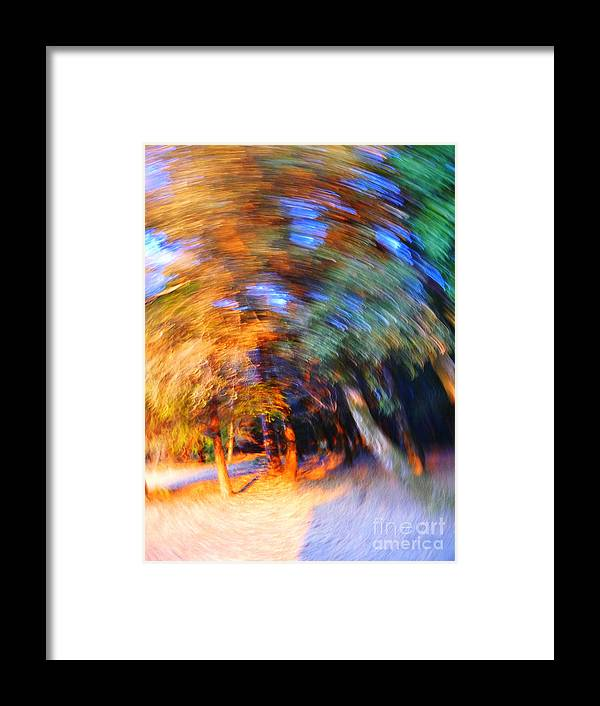 Trees Framed Print featuring the digital art Time Bandit by JoAnn SkyWatcher