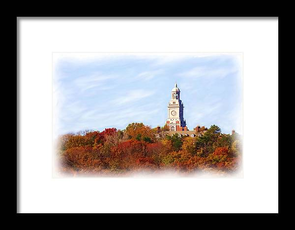 Autumn Framed Print featuring the photograph Time For Fall by Jim Darnall
