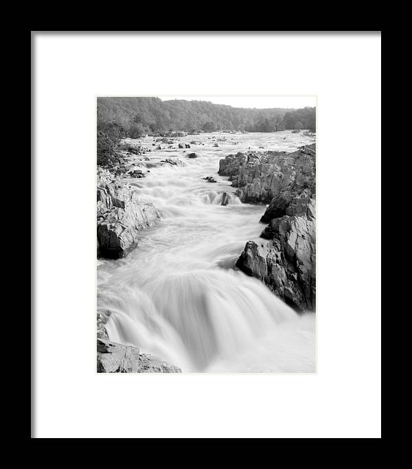 River Framed Print featuring the photograph Time by Mitch Cat