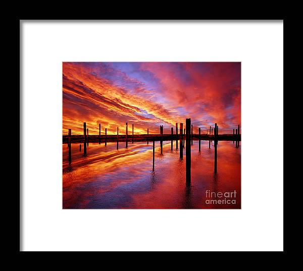 Photodream Framed Print featuring the photograph Time Stands Still by Jacky Gerritsen