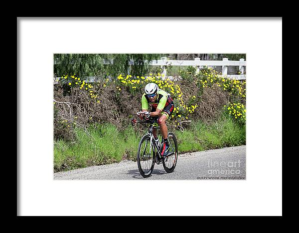 Tour Of Murrieta Framed Print featuring the photograph Time Trail 5 by Dusty Wynne