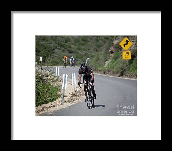 Tour Of Murrieta Framed Print featuring the photograph Time Trial 14 by Dusty Wynne