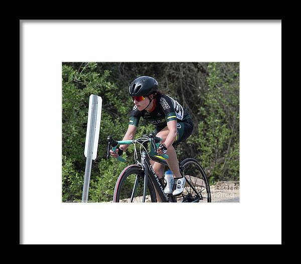 Tour Of Murrieta Framed Print featuring the photograph Time Trial 17 by Dusty Wynne