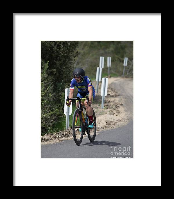 Tour Of Murrieta Framed Print featuring the photograph Time Trial 20 by Dusty Wynne