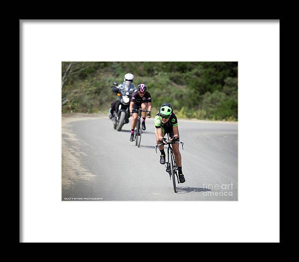 Tour Of Murrieta Framed Print featuring the photograph Time Trial 22 by Dusty Wynne