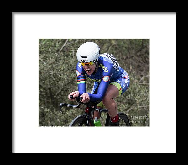 Tour Of Murrieta Framed Print featuring the photograph Time Trial 23 by Dusty Wynne