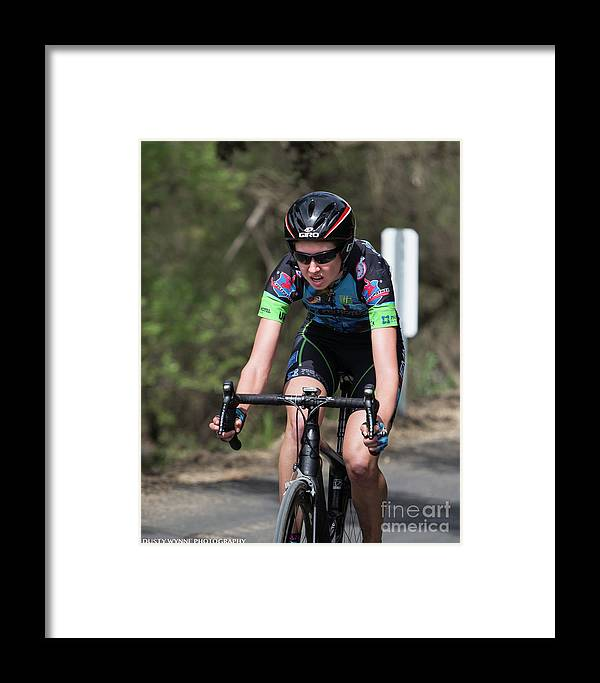 Tour Of Murrieta Framed Print featuring the photograph Time Trial 27 by Dusty Wynne