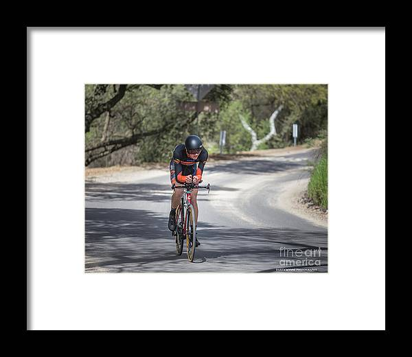 Tour Of Murrieta Framed Print featuring the photograph Time Trial 29 by Dusty Wynne