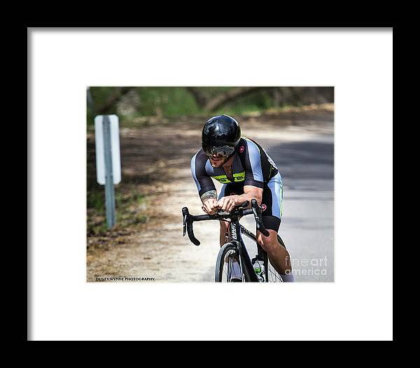 Tour Of Murrieta Framed Print featuring the photograph Time Trial 30 by Dusty Wynne