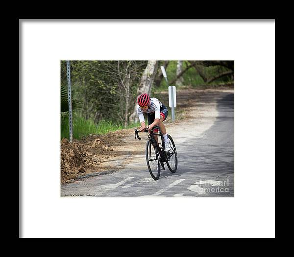 Tour Of Murrieta Framed Print featuring the photograph Time Trial 33 by Dusty Wynne