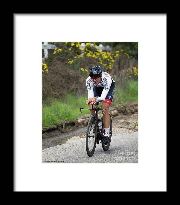 Tour Of Murrieta Framed Print featuring the photograph Time Trial 34 by Dusty Wynne