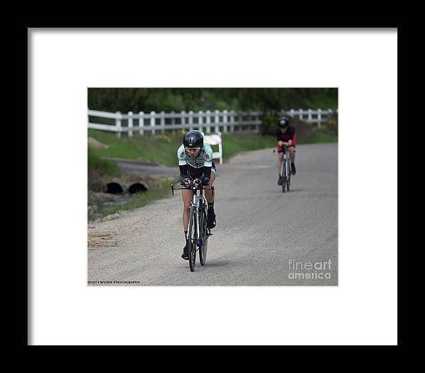 Tour Of Murrieta Framed Print featuring the photograph Time Trial 36 by Dusty Wynne