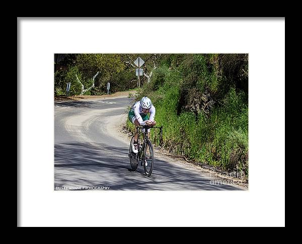 Tour Of Murrieta Framed Print featuring the photograph Time Trial 8 by Dusty Wynne