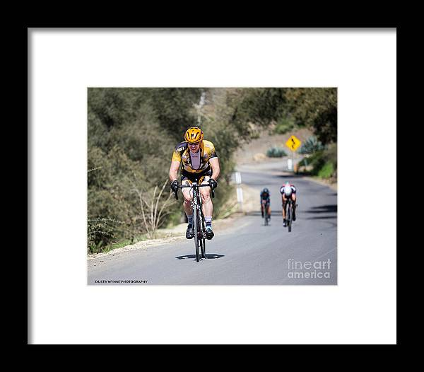 Tour Of Murrieta Framed Print featuring the photograph Time Trial 9 by Dusty Wynne