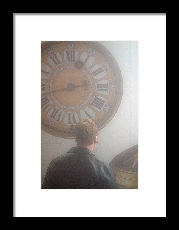 Jez C Self Framed Print featuring the photograph Time Watching by Jez C Self