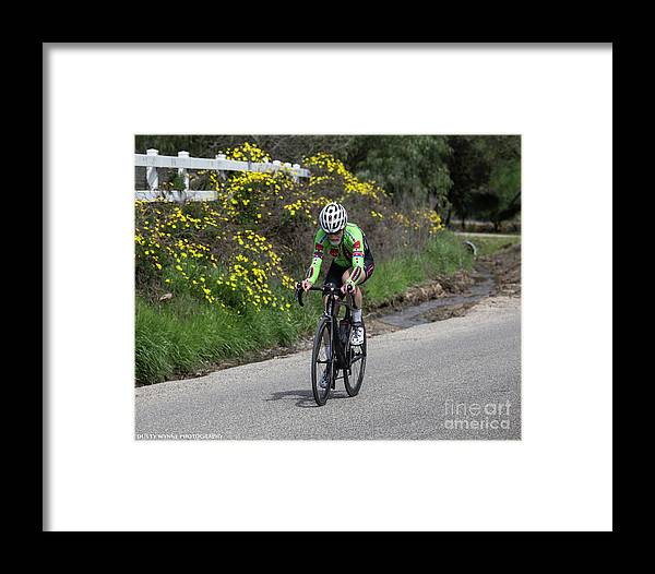 Tour Of Murrieta Framed Print featuring the photograph Timetrial 7 by Dusty Wynne
