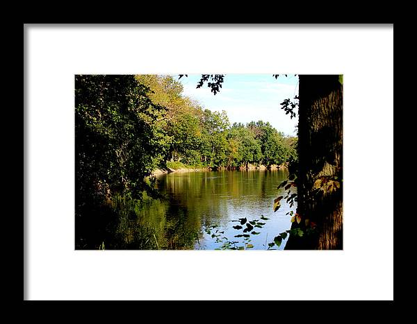 Tippecanoe River Framed Print featuring the photograph Tippecanoe River By Earl's Photography by Earl Eells a