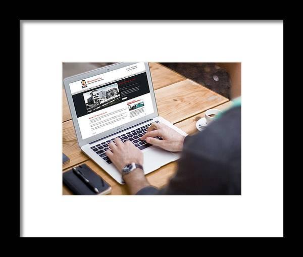 Php Development Framed Print featuring the photograph Tkt Cast Cms Website Design by KCS ITGlobal
