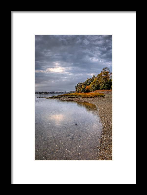 Framed Print featuring the photograph To The Point by David Henningsen