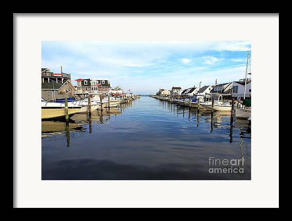 To The Sea At Lbi Framed Print featuring the photograph To The Sea At Lbi by John Rizzuto