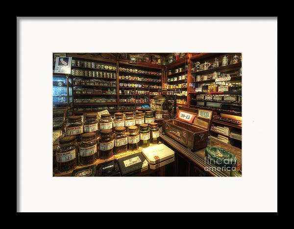 Art Framed Print featuring the photograph Tobacco Jars by Yhun Suarez